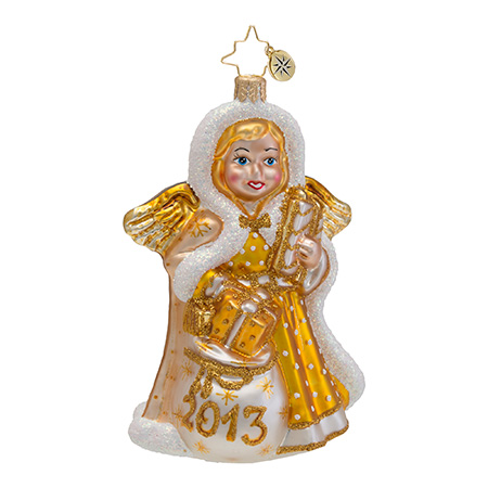 Heavenly Memory 2013 Dated  (retired) Radko Ornament