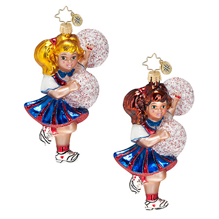 Here To Cheer Cheerleader  (retired) Radko Ornament