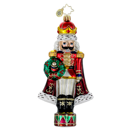 He's The King Nutcracker  (retired) Radko Ornament