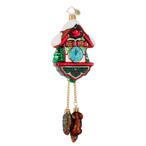 Hickory Dickory Clock  (retired) Radko Ornament