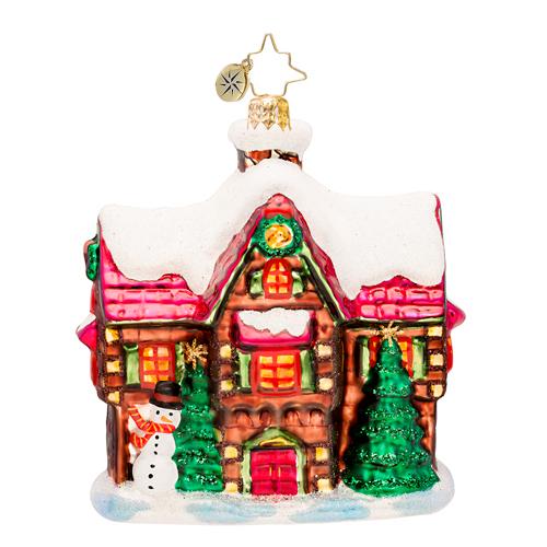 Hillside Hideaway Radko Ornament