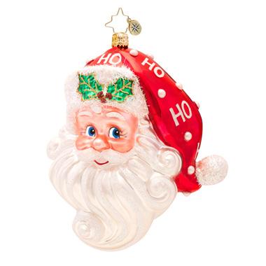 Ho Ho Claus Santa Radko Ornament
