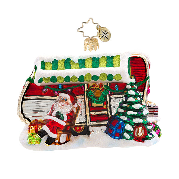 Holiday Camper Radko Ornament
