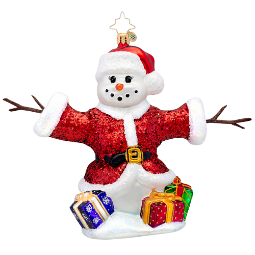 Holiday Hugger Radko Ornament
