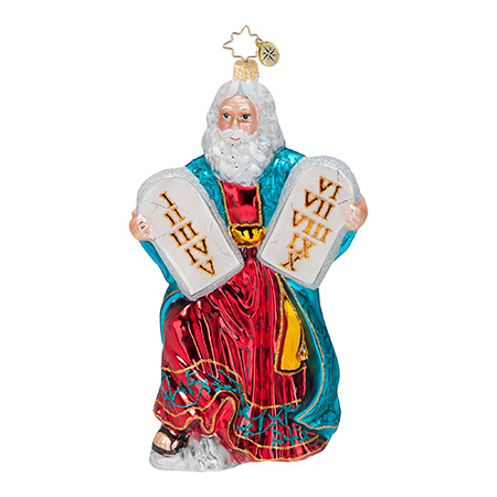 Holy Moses  (retired) Radko Ornament