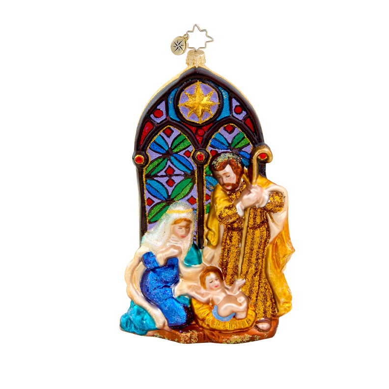 Holy Reflections Religious  (retired) Radko Ornament