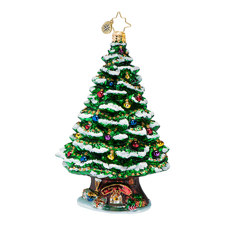 Home Spruce Home Christmas Tree Ornament Radko Ornament