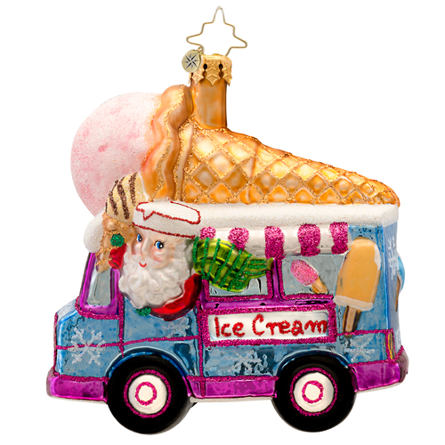 Ice Scream, You Scream  (retired) Radko Ornament