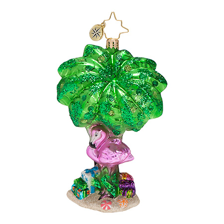 Island Getaway  (retired) Radko Ornament