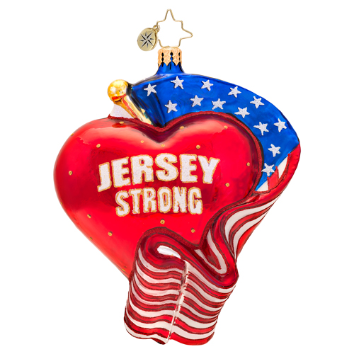 Jersey Strong  (retired) Radko Ornament