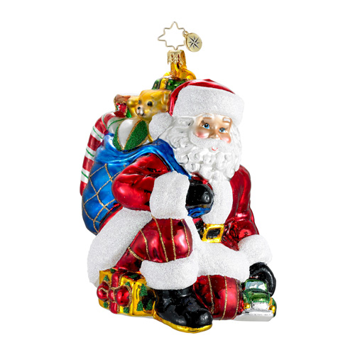 Just For You Santa  (retired) Radko Ornament
