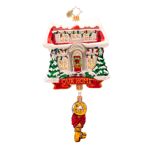 Key For Heart And Home Ornament Radko Ornament