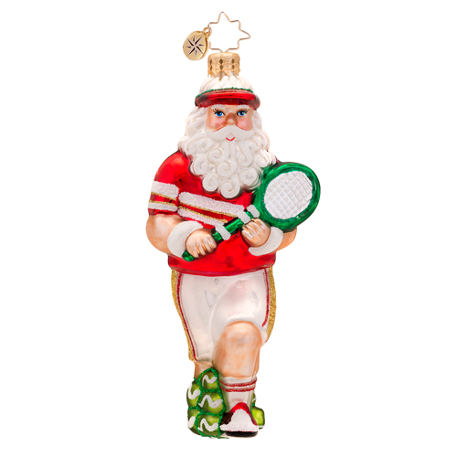 King Of The Courts Ornament (retired) Radko Ornament