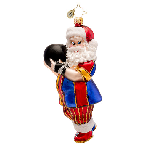 Kingpin Claus Ornament (retired) Radko Ornament