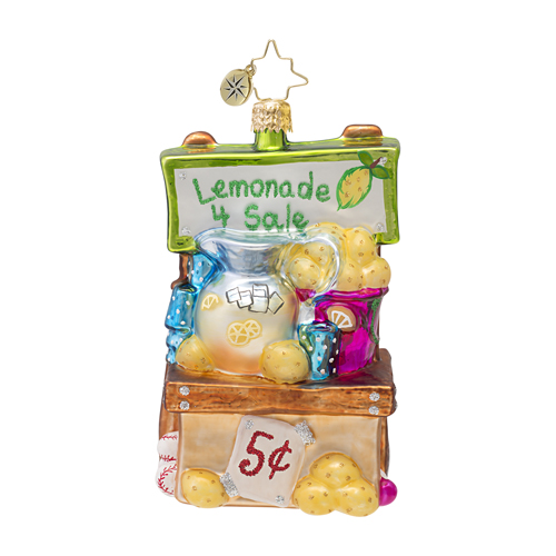 Lemonade For Sale!  (retired) Radko Ornament