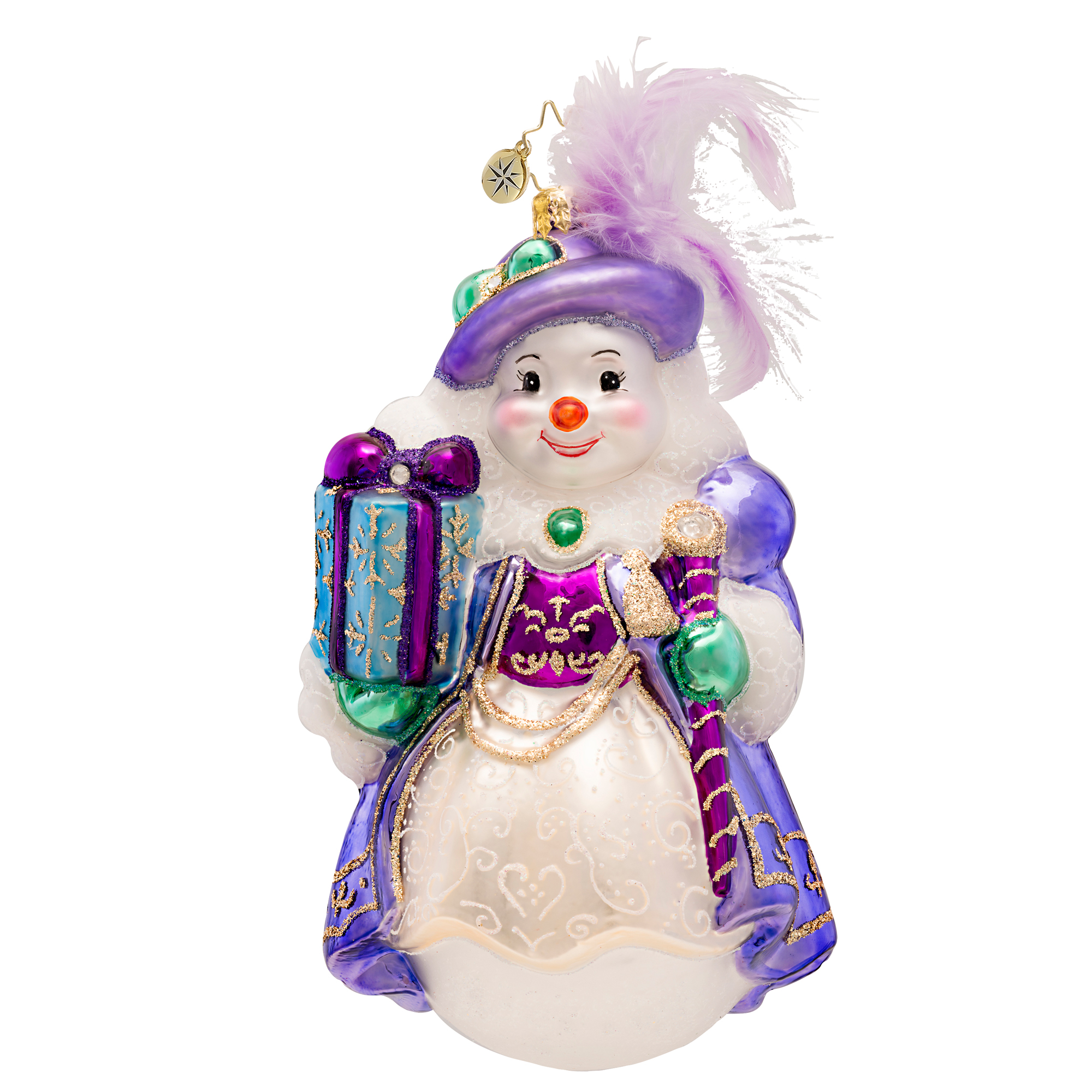 Lovely In Lavender  (retired) Radko Ornament
