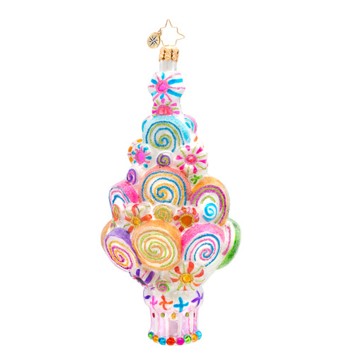 Lovely Lollis Radko Ornament