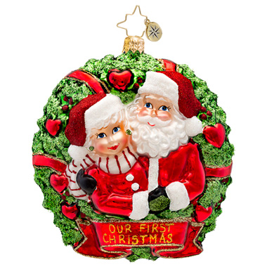 Loving Couple Radko Ornament