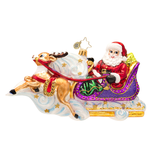 Magical Journey Radko Ornament