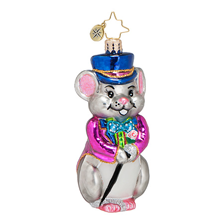 Martin Von Dapper Mouse  (retired) Radko Ornament