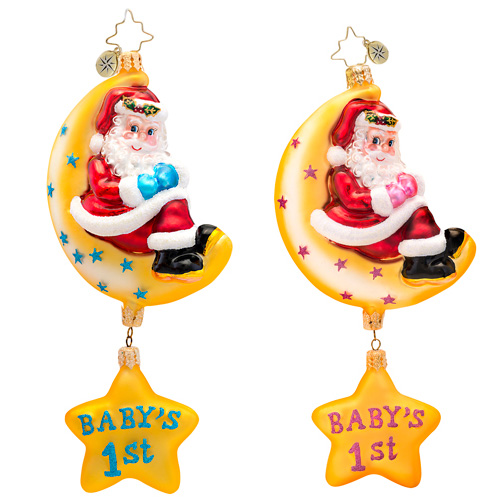 Merry Moon Babys First Ornament Radko Ornament