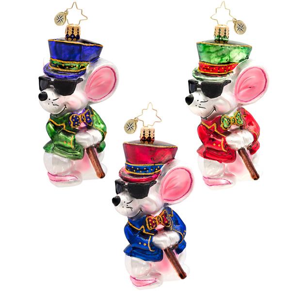 Mischievous Mouse Radko Ornament