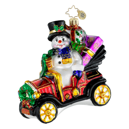 Model T. Frosty Car  (retired) Radko Ornament
