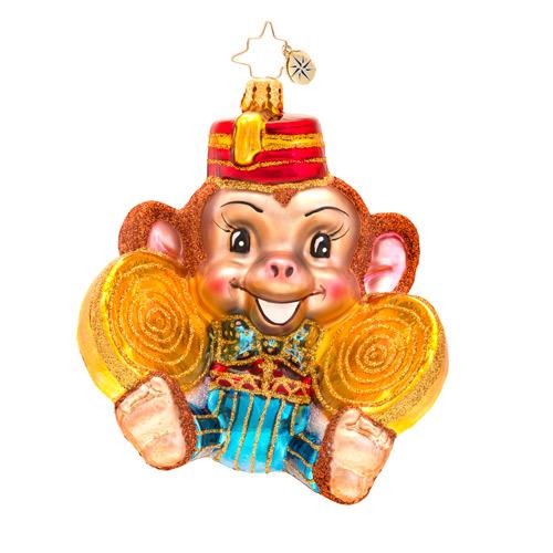 Monkey Noise Radko Ornament