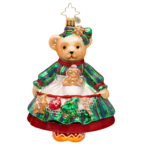 Muffy Baking Ornament Radko Ornament