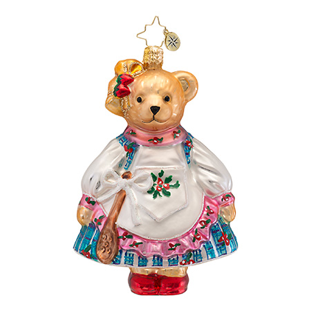 Muffy Jam Session Vanderbear  (retired) Radko Ornament