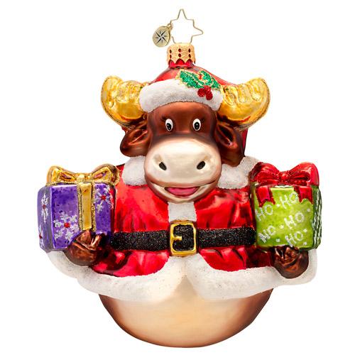 Murphy The Moose Radko Ornament