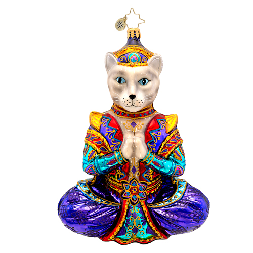 Namaste  (retired) Radko Ornament