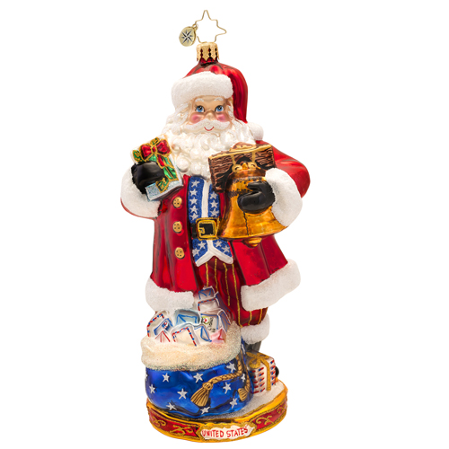 National Treasure Nick Ornament (retired) Radko Ornament