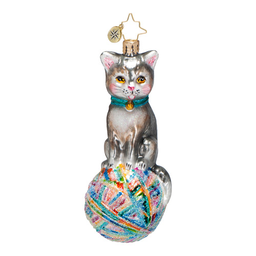 Naughty Neo Cat  (retired) Radko Ornament