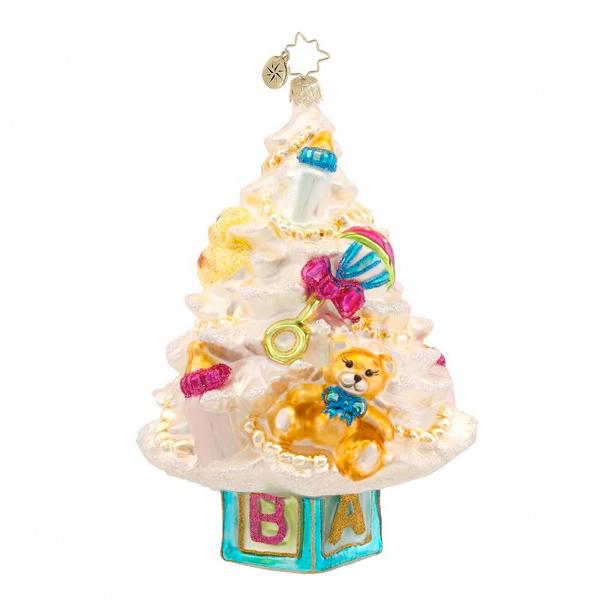 Newborn Tree Radko Ornament