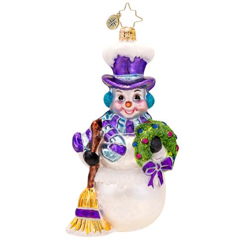 Nippy The Snowman Radko Ornament