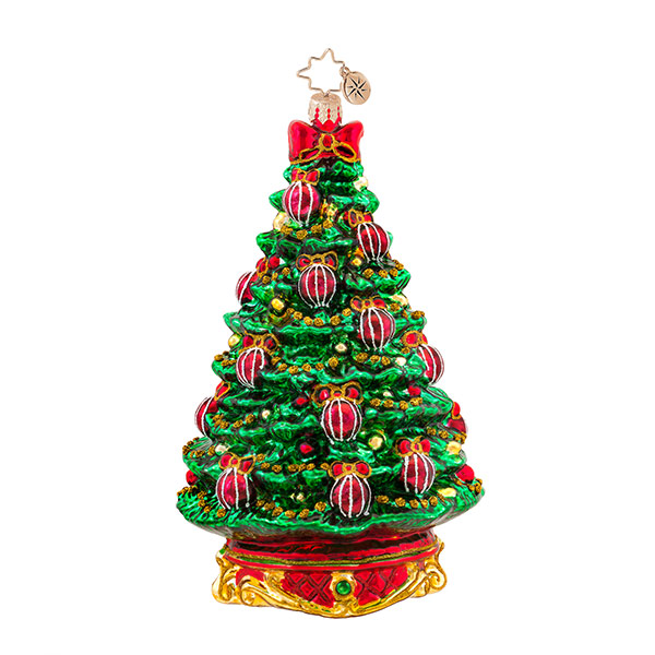 Noble Fir Radko Ornament