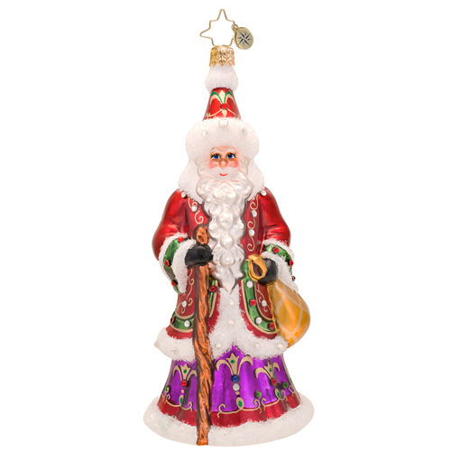 Northern Father Luxe Santa Radko Ornament