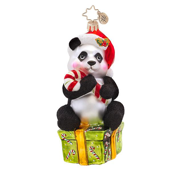 Pandy-cane Radko Ornament