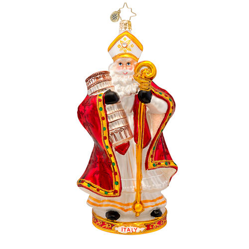 Papa Natale Ornament (retired) Radko Ornament