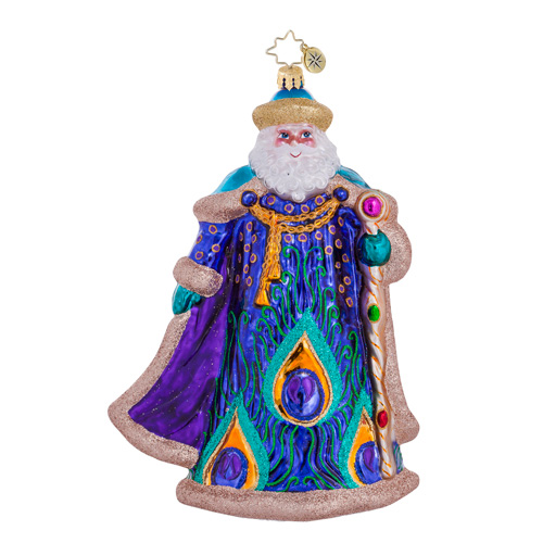 Papa Plumage Santa Radko Ornament