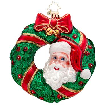 Peek-a-boo Santa Radko Ornament