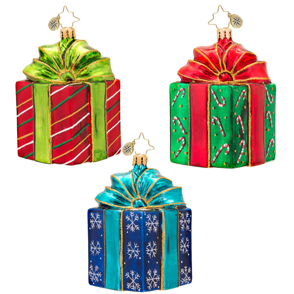 Packages and Gift Radko Ornaments
