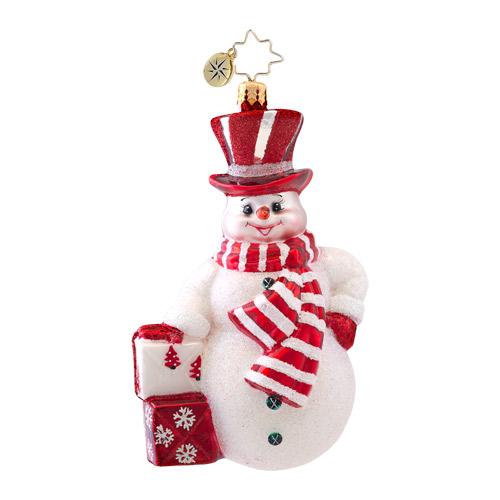Prince Frost Snowman Radko Ornament