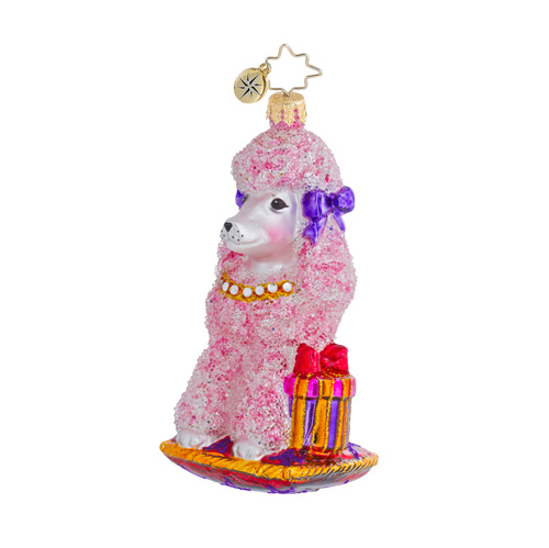 Princess Pauline Poodle Dog  (retired) Radko Ornament
