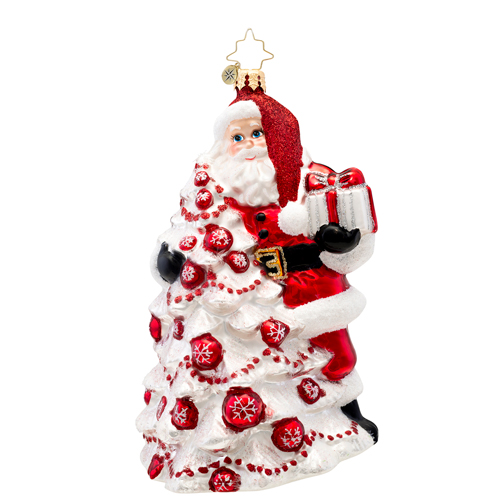 Red Splendor Radko Ornament