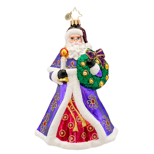 Rich Glow St Nicholas Ornament Radko Ornament