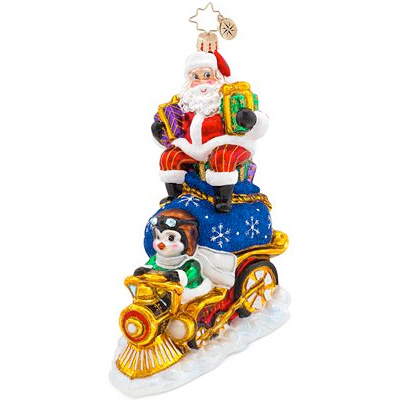Riding High Nick Radko Ornament