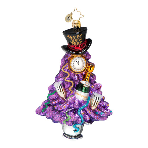 Ring It In New Year's 2014  (retired) Radko Ornament