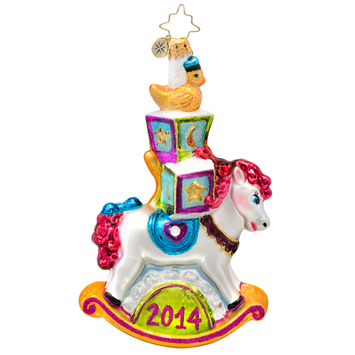 Rockin' The New Year 2014 Dated  (retired) Radko Ornament